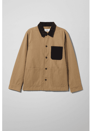Josh Canvas Jacket - Beige