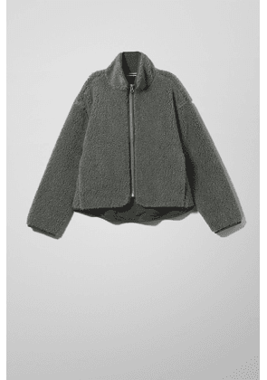 Frigg Pile Jacket - Grey