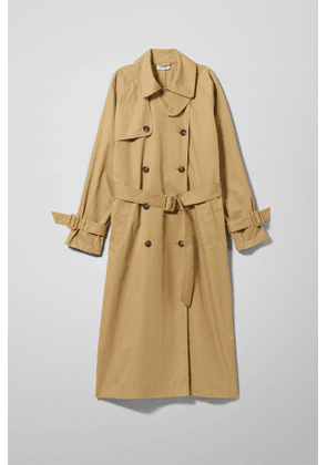 Isa Trench Coat - Beige