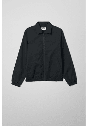 Bruno Stripe Harrington Jacket - Black