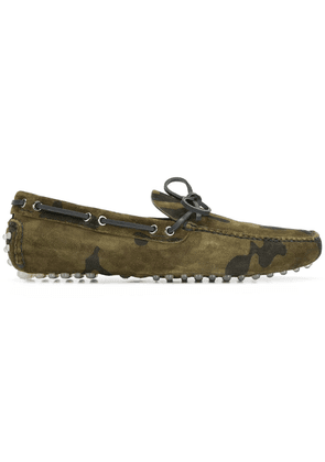 Car Shoe camouflage driver loafers - Green