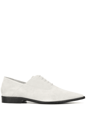 Haider Ackermann pointed-toe oxford shoes - White