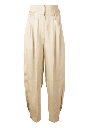 Givenchy high-waisted military trousers - Neutrals