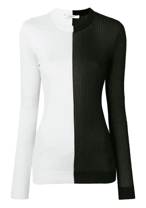 Givenchy bicolour knit sweater - Black