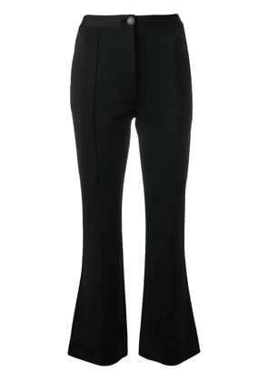 Givenchy flared high-waisted trousers - Black