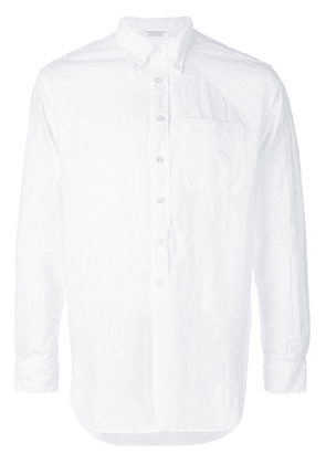 Engineered Garments long-sleeve fitted shirt - White