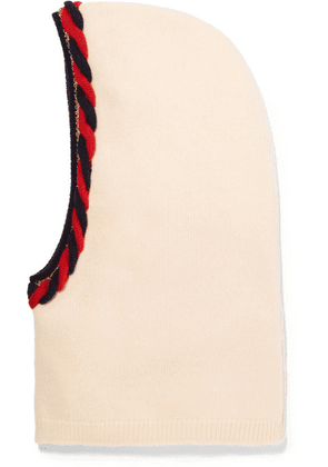 Gucci - Braided Wool And Cashmere-blend Snood - Ivory