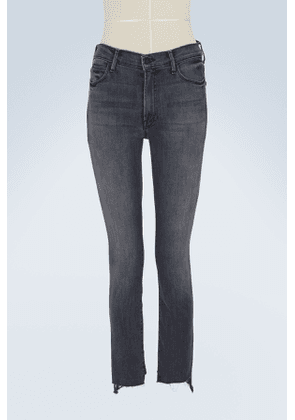 The Zip Stunner high-waisted skinny jeans