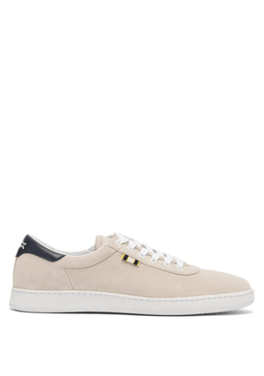 Aprix - Low Top Suede Trainers - Mens - Cream