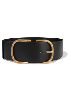 Valentino - Valentino Garavani Leather Waist Belt - Black