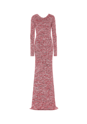 Knitted cotton maxi dress