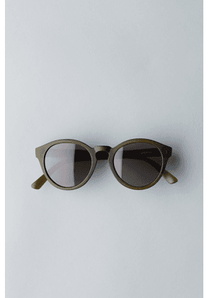 Transfer Rounded Sunglasses - Green