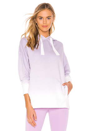 ALALA Ombre Hoodie in Purple. Size S,M.