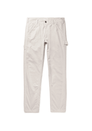 President's - Cotton-canvas Cargo Trousers - Off-white
