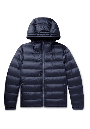 Ten C - Quilted Nylon Hooded Down Liner - Navy