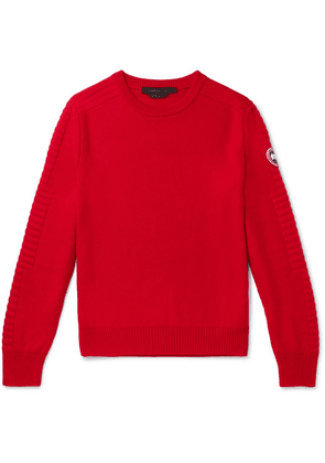 Canada Goose - Patterson Merino Wool Sweater - Red