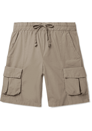 John Elliott - Cotton Cargo Shorts - Light brown