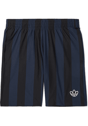 adidas Originals - Ed Striped Jersey Shorts - Black
