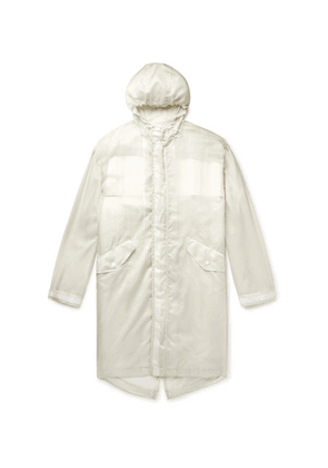Helmut Lang - Printed Nylon-ripstop Hooded Parka With Removable Liner - White