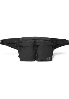Carhartt WIP - Military Twill And Canvas Belt Bag - Black