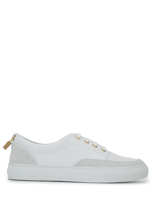 Buscemi lock detail lace-up sneakers - White