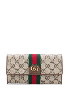 Gucci monogram wallet - Neutrals