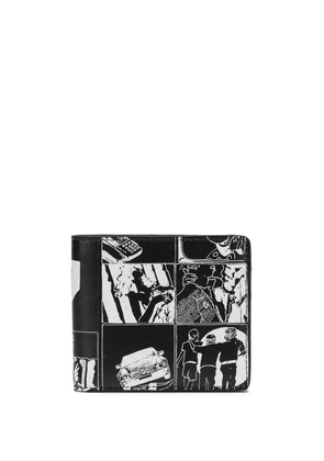 Enfants Riches Déprimés printed billfold wallet - Black