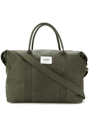 Barbour large holdall tote bag - Green