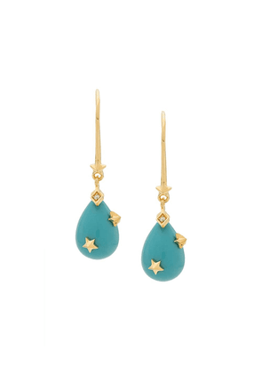 Eshvi MK earrings - Blue