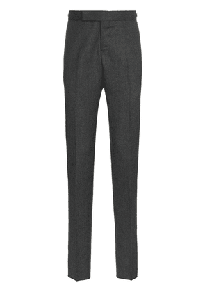 Thom Browne tailored striped wool trousers - Grey