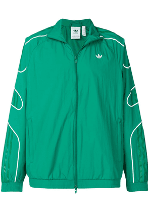 Adidas zip-up logo jacket - Green