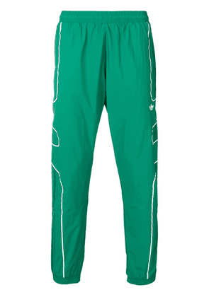 Adidas lightweight logo track trousers - Green