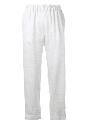 Forte Forte high rise casual trousers - Grey