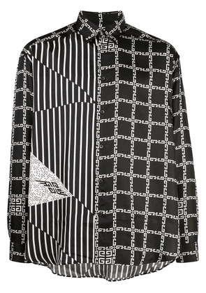 Givenchy graphic printed shirt - Black