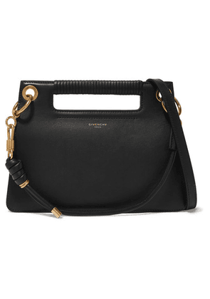 Givenchy - Whip Small Leather Shoulder Bag - Black