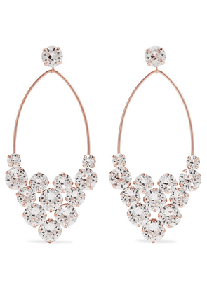 Isabel Marant - Rose Gold-tone Crystal Earrings - Silver