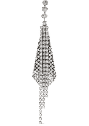 Isabel Marant - Silver-tone Crystal Earring - one size