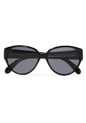 Givenchy - Round-frame Acetate Sunglasses - Black