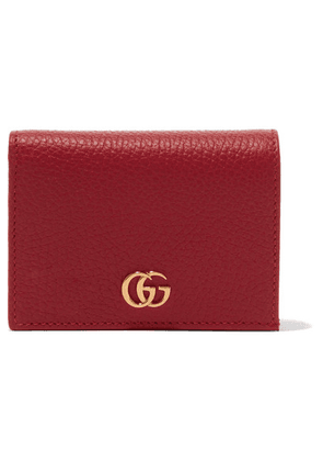Gucci - Marmont Petite Textured-leather Wallet - One size