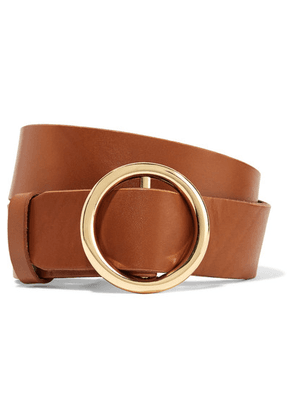 FRAME - Le Circle Leather Belt - Brown
