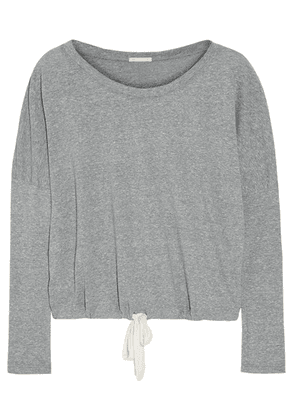 Eberjey - Heather Jersey Pajama Top - Gray