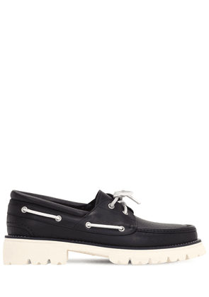 Ambler Leather Boat Shoes