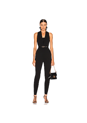 Stella McCartney All In One Strong Jumpsuit in Black