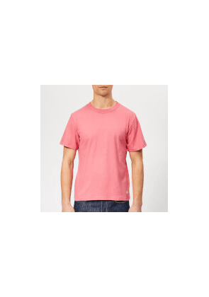 Armor Lux Men's Callac T-Shirt - New Pink - XL - Pink