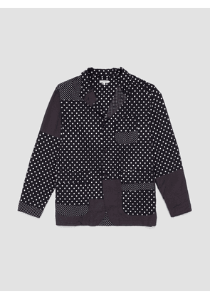 Engineered Garments Broadcloth Loiter Jacket Big Polka Dot
