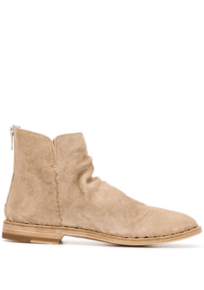 Officine Creative zipped ankle boots - Neutrals