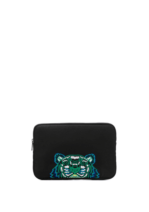 Kenzo Tiger laptop bag - Black