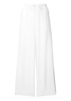P.A.R.O.S.H. elasticated track pants - White