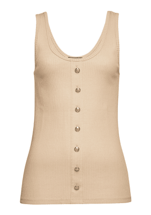 Balmain Sleeveless Top with Cotton