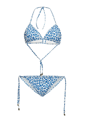 SWIM WITH MI Bella Animal Print Triangle Bikini